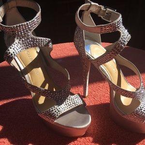 Silver Gianni Bini Shoes